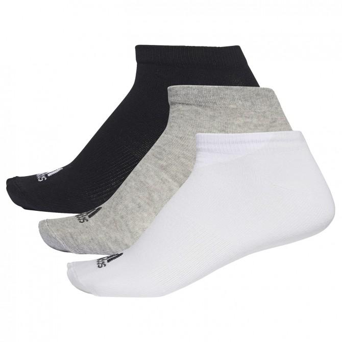 Calze Adidas Performance no Show nero grigio bianco