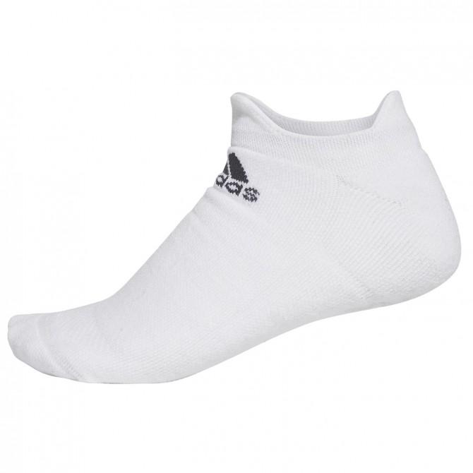 Calze Adidas Alphaskin Maximum Cushioning No-Show bianco