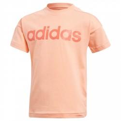 T-shirt Adidas Lin pesca-rosso