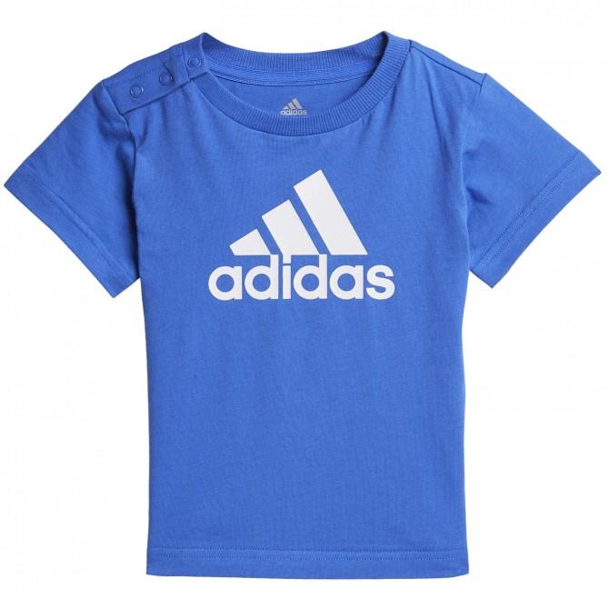 T-shirt Adidas Fav royal-bianco