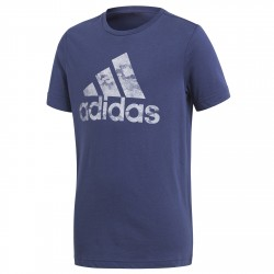 T-shirt Adidas Badge of Sport Bambino blu