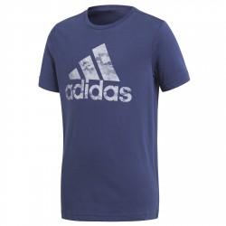 T-shirt Adidas Badge of Sport Garçon bleu