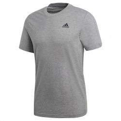 T-shirt Adidas Essentials Base Uomo grigio