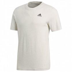 T-shirt Adidas Essentials Base Uomo grigio chiaro
