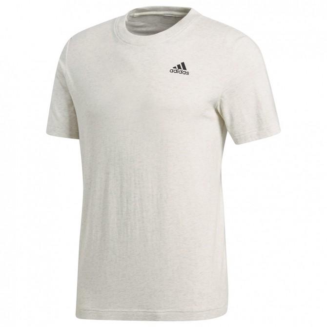 T-shirt Adidas Base grigio melange