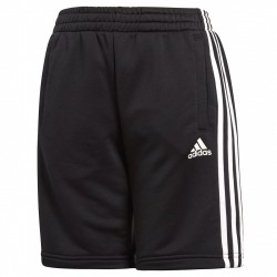 Shorts Adidas Essentials 3-Stripes Bambino nero