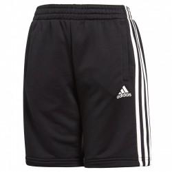 Shorts Adidas Essentials 3-Stripes Niño negro