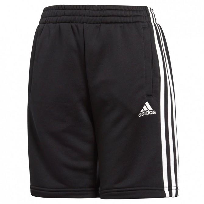 Shorts Adidas Essentials 3-Stripes Bambino nero