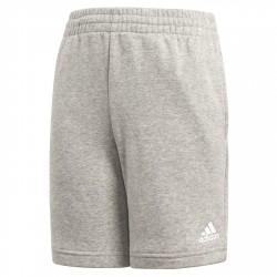 Shorts Adidas Essentials Logo Niño gris
