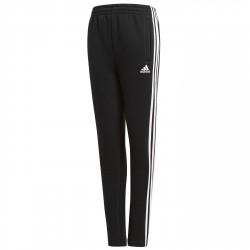 Pantalón Adidas Essentials 3-Stripes Fleece Niño negro