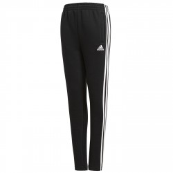 Pantaloni tuta Adidas Essentials 3-Stripes Fleece Bambino nero