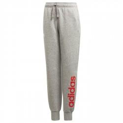 Pantaloni tuta Adidas Essentials Linear Bambina grigio