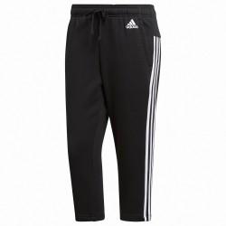 Pantalone 3/4 Adidas Essentials 3-Stripes Donna nero
