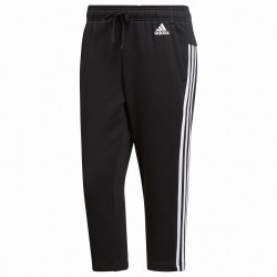 Pantalone 3/4 Adidas Essentials 3-Stripes Donna nero