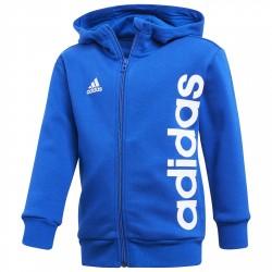 Felpa Adidas Little Kids Ful Zip Bambino royal