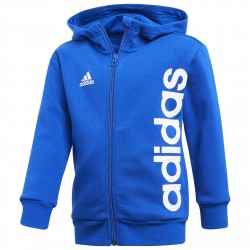 Sweatshirt Adidas Little Kids Ful Zip Boy royal