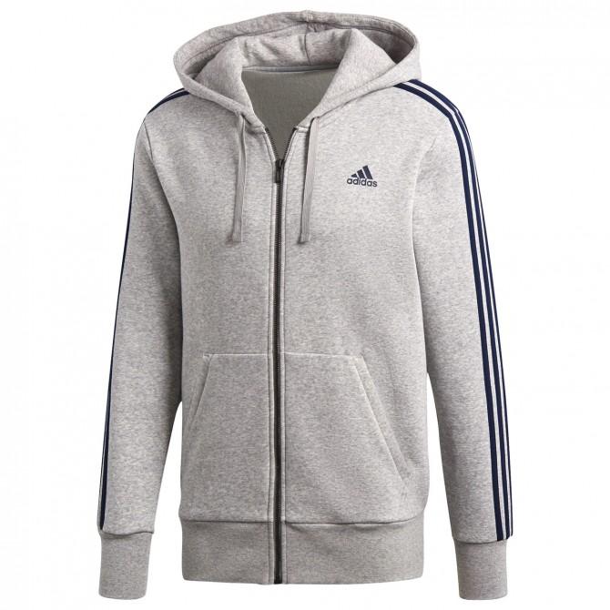 Sudadera Adidas Essentials 3-Stripes Hombre - Ropa fitness 99f1ba69458