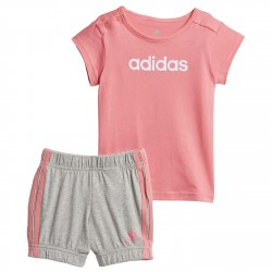 Completo Adidas Summer Easy rosa-grigio