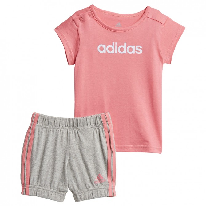 Ensemble Adidas Summer Easy rose-gris