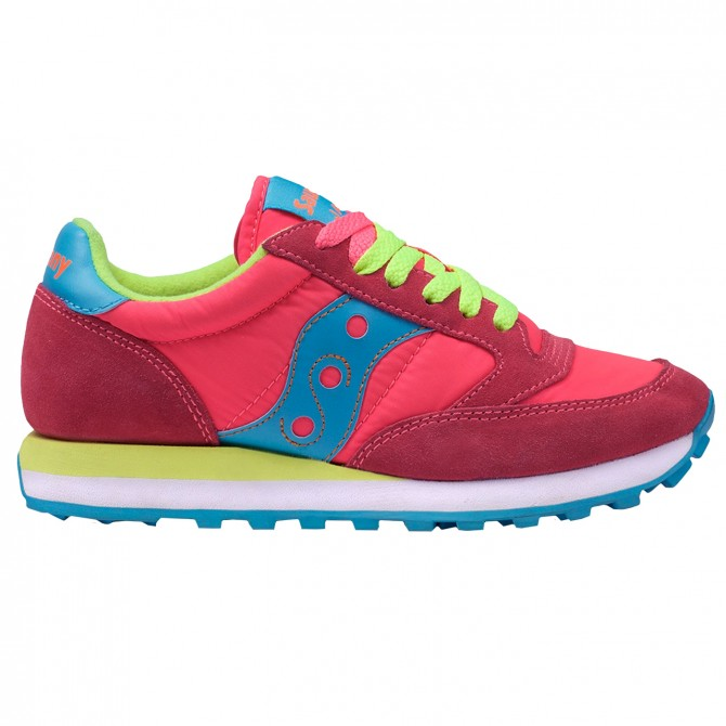 Sneakers Saucony Jazz Original Woman fluro fuchsia-blue