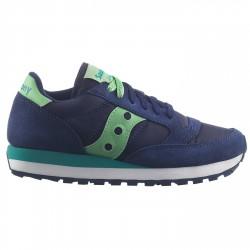 Sneakers Saucony Jazz Original Donna blu-verde