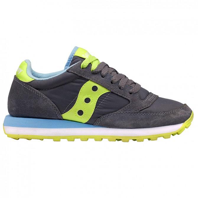 Sneakers Saucony Jazz Original Donna grigio-verde