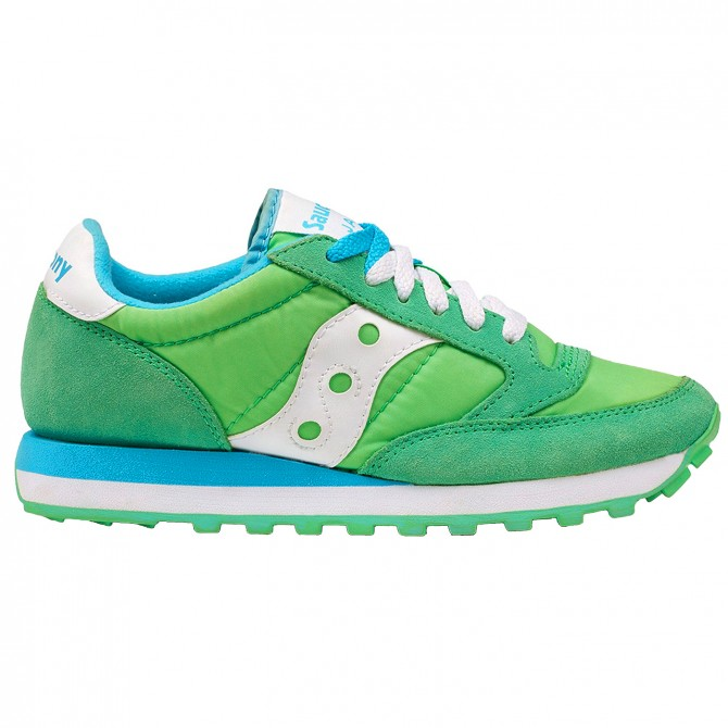 Sneakers Saucony Jazz Original Mujer verde-azul
