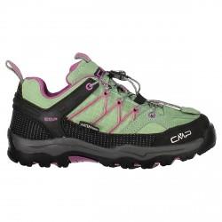 Zapato trekking Cmp Rigel Low Mujer verde-rosa