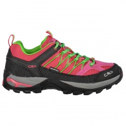 Zapato trekking Cmp Rigel Low Waterproof Mujer rosa
