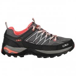 Zapato trekking Cmp Rigel Low Waterproof Mujer gris