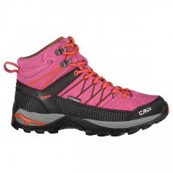 Zapato trekking Cmp Rigel Mid Mujer fucsia