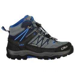 Zapato trekking Cmp Rigel Mid Junior gris-azul