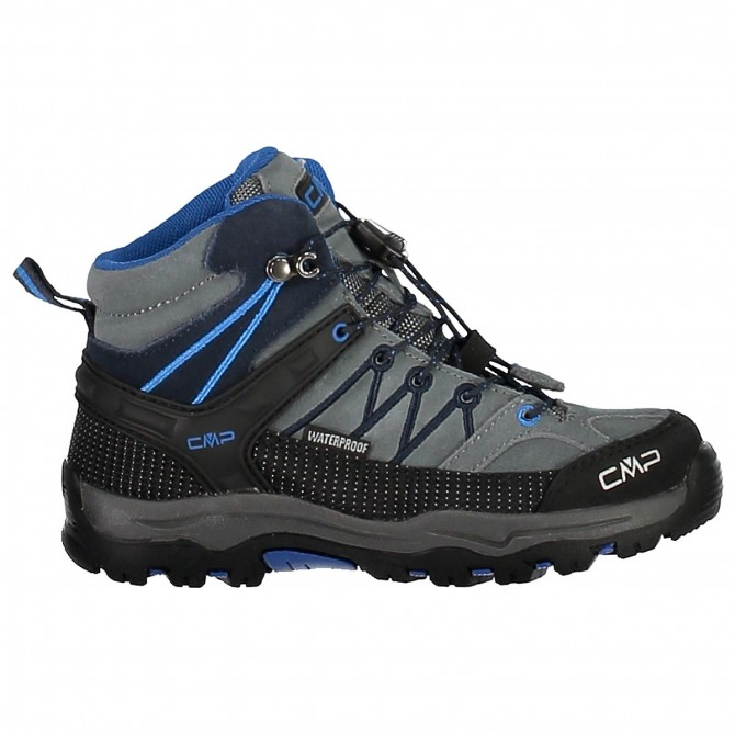 Chaussure trekking Cmp Rigel Mid Junior gris-blue