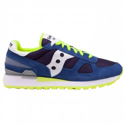 Sneakers Saucony Shadow O' Man blue-yellow