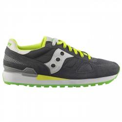 Sneakers Saucony Shadow O' Uomo grigio-giallo