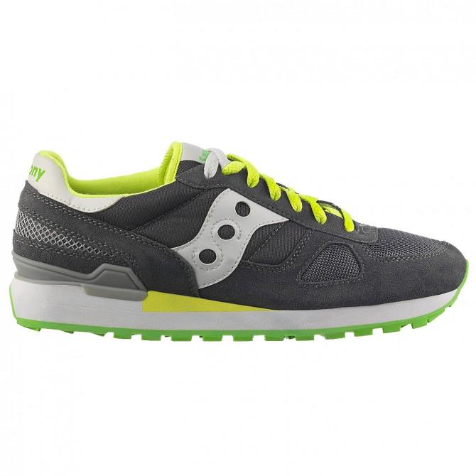 Sneakers Saucony Shadow O' Uomo grigio-giallo SAUCONY Scarpe moda