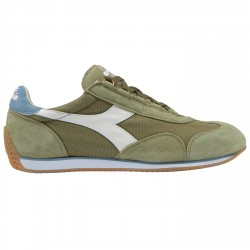 Sneakers Diadora Equipe Stone Wash 12 Homme vert-blanc