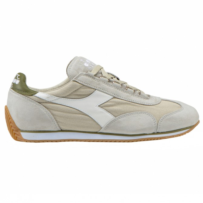 Sneakers Diadora Equipe Stone Wash 12 Homme gris-vert