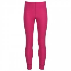 Baselayer pants Odlo Warm Junior purple
