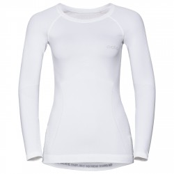 Jersey interior Odlo Evolution Warm Mujer blanco