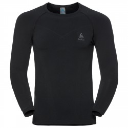 Jersey interior Odlo Evolution Warm Hombre negro