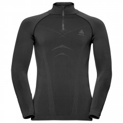 Jersey interior Odlo Evolution Warm Turtleneck Hombre negro