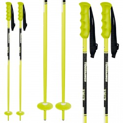 Ski poles Komperdell Offense Junior yellow