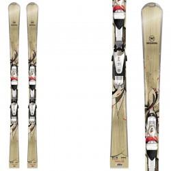 ski Rossignol Unique 10 W Tpi2 + fixations Saphir 110 Tpi2 B73