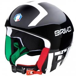 Casco esquí Briko Vulcano Fis 6.8 Jr Fisi negro