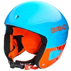Casco sci Briko Vulcano 6.8 Jr blu-arancione