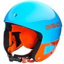Ski helmet Briko Vulcano 6.8 Jr blue-orange