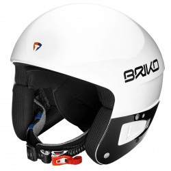 Casco sci Briko Vulcano 6.8 Jr bianco