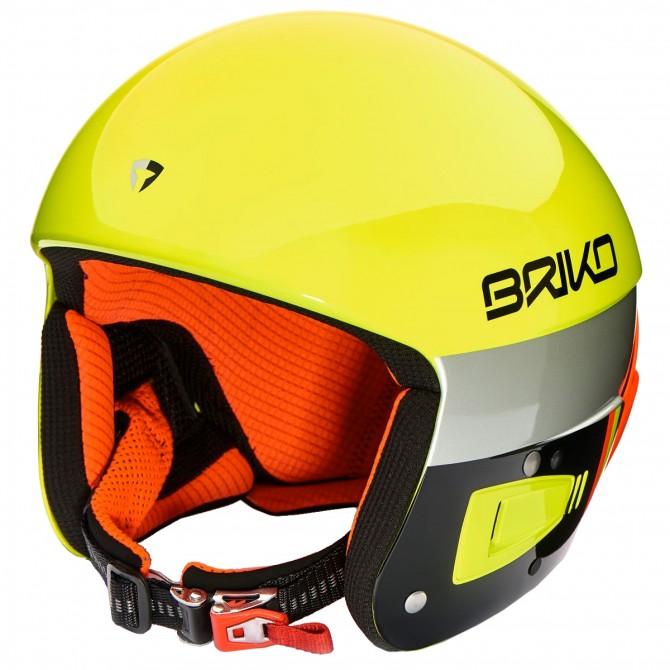 Casque ski Briko Vulcano Fis 6.8 jaune