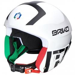 Casque ski Briko Vulcano Fis 6.8 Fisi blanc